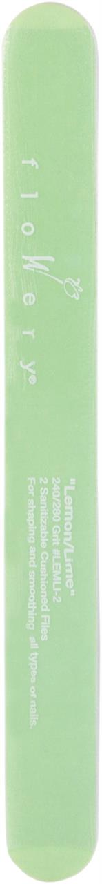 Flowery Nail File – Lemon Lime