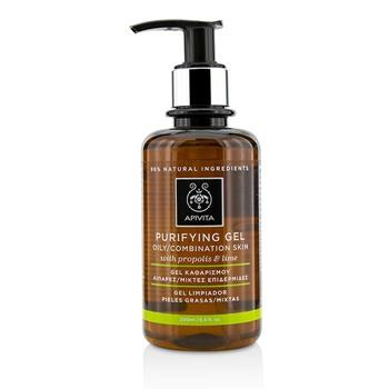 Apivita Purifying Gel With Propolis & Lime – For Oily/Combination Skin 200ml/6.8oz Skincare
