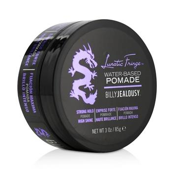 Billy Jealousy Lunatic Fringe Water-Based Pomade (Strong Hold – High Shine) 85g/3oz Hair Care