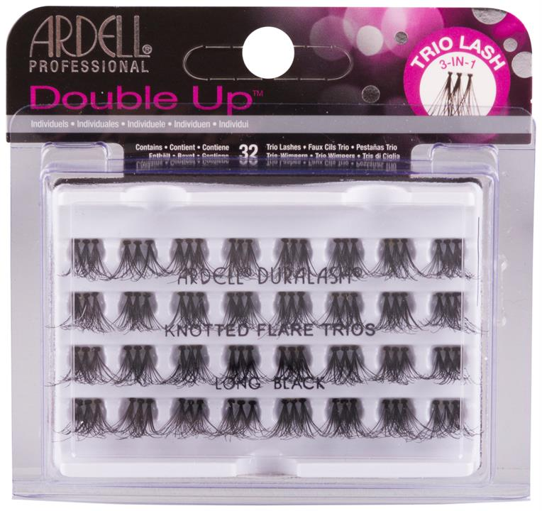 Ardell Double Trio Individuals Long Black