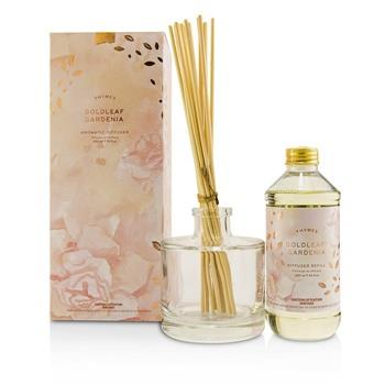Thymes Aromatic Diffuser – Goldleaf Gardenia 230ml/7.75oz Home Scent