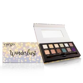 Cargo Wanderlust Eye Shadow Palette (12x Eye Shadow, 1x Shadow Brush) 12×0.8g/0.03oz Make Up