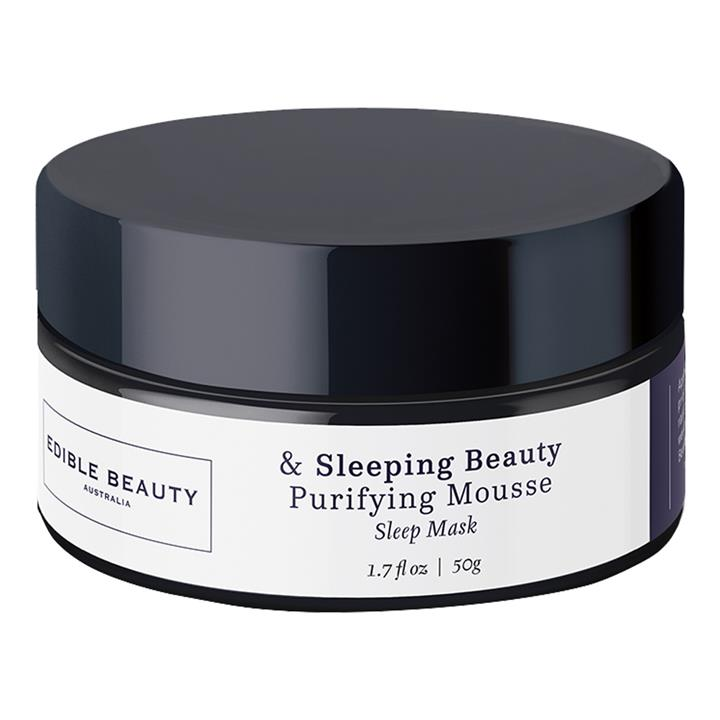 Edible Beauty & Sleeping Beauty Purifying Mousse Mask 50ml