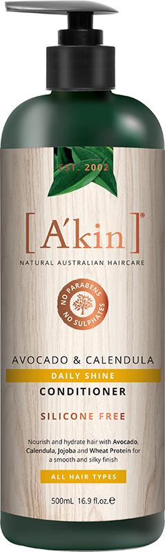 A'kin Conditioner For All Hair Types Avocado & Calendula 500ml