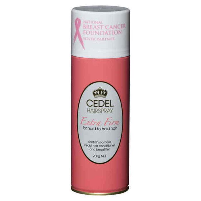 Cedel Hairspray Extra Firm For Hard To Hold Hair 250g