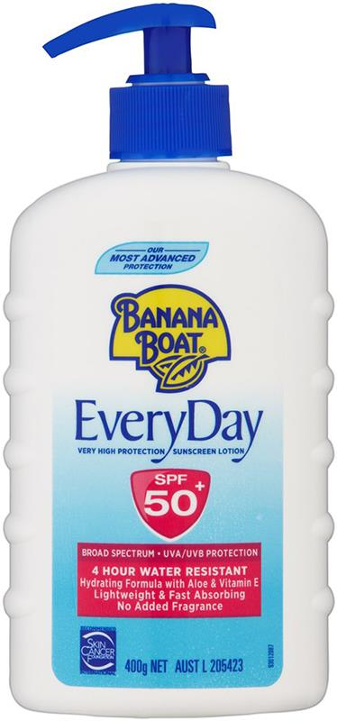 Banana Boat Everyday SPF 50+ 400g