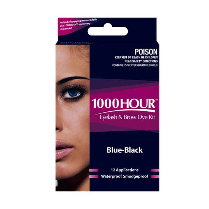 1000 Hour Eyelash & Brow Dye Kit (Blue-Black)