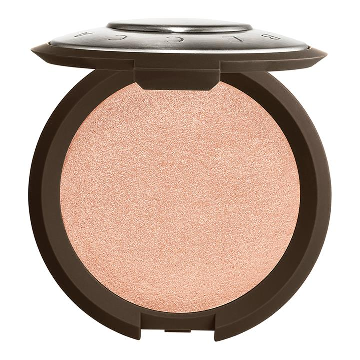 BECCA Cosmetics Shimmering Skin Perfector Pressed Highlighter Rose Quartz (neutral pale pink with soft golden pearl)