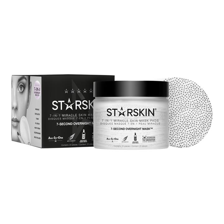 Starskin 7-Second Overnight Mask™ 7-in-1 Miracle Skin Mask Pads 20 pcs