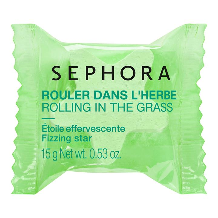 Sephora Collection Fizzing Star Bath Soak Rolling in the Grass