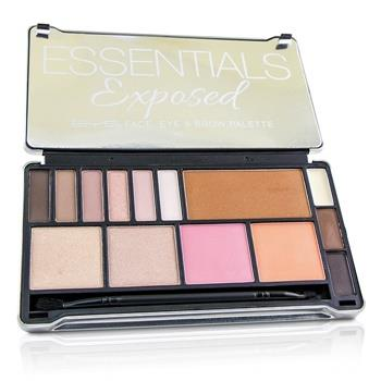 BYS Essentials Exposed Palette (Face, Eye & Brow, 1x Applicator) 24g/0.8oz Make Up