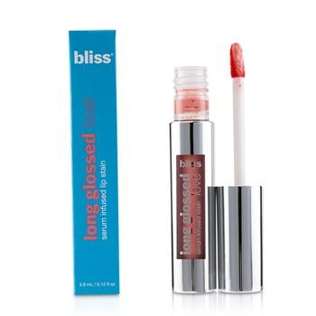 Bliss Long Glossed Love Serum Infused Lip Stain – # Wishful Pinking 3.8ml/0.12oz Make Up
