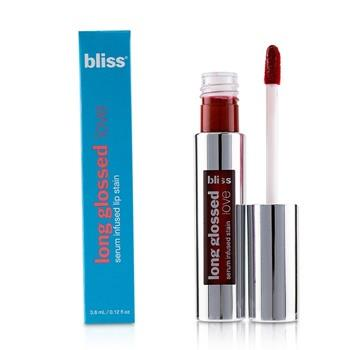 Bliss Long Glossed Love Serum Infused Lip Stain – # Red Hot Mama 3.8ml/0.12oz Make Up
