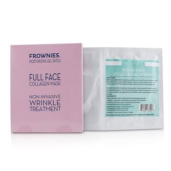 Frownies Full Face Collagen Mask – Moisturizing Gel Patch 1sheet Skincare