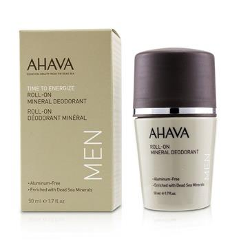 Ahava Time To Energize Roll-On Mineral Deodorant 50ml/1.7oz Men's Skincare
