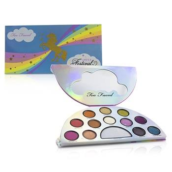 Too Faced Life's A Festival Ethereal Eye Shadow & Highlighting Palette 12.6g/0.47oz Make Up