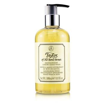 Taylor Of Old Bond Street Sandalwood Luxury Hand Wash 300ml/10.5oz Men's Skincare