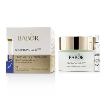 Babor Skinovage PX Perfect Combination Daily Mattifying Cream (with Free Collagen Booster Fluid 2ml) – For Combination & Oily Skin 50ml/1.7oz Skincare