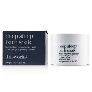 This Works Deep Sleep Bath Soak 200g/7.06oz Skincare
