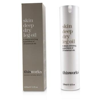 This Works Skin Deep Dry Leg Oil 120ml/4oz Skincare