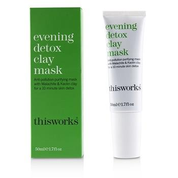 This Works Evening Detox Clay Mask 50ml/1.7oz Skincare