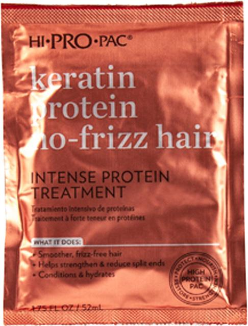 Hi Pro Pac Keratin Protein No-Frizz Hair Treatment 52ml