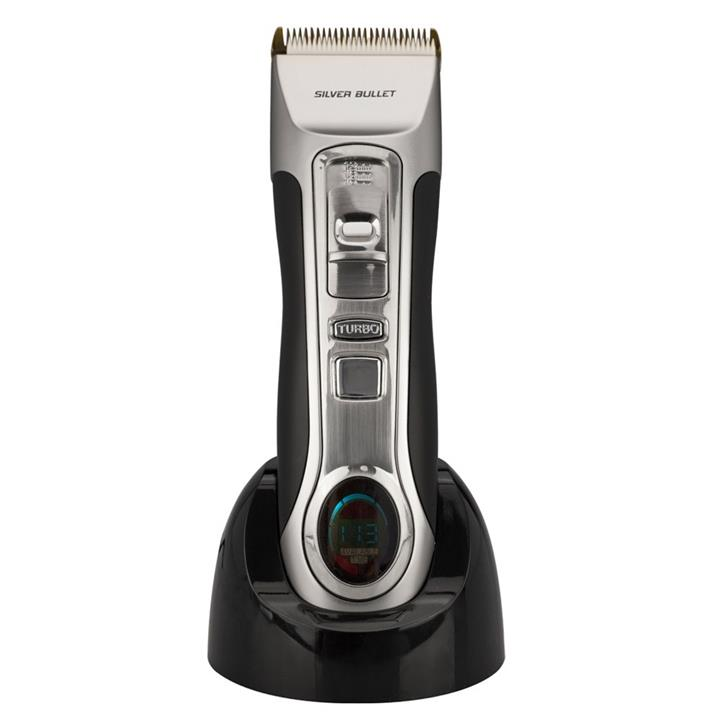 Silver Bullet Ceramic Pro 120 Cordless Hair Clipper Silver