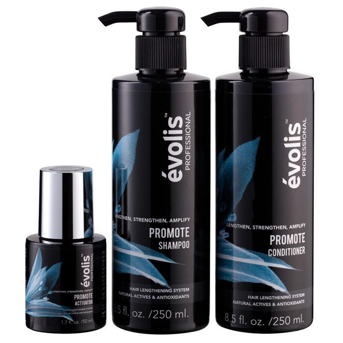 Evolis Professional Promote 3-Step Hair Growth System 3 items