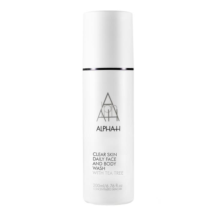 Alpha-H Clear Skin Daily Face and Body Wash 200ml