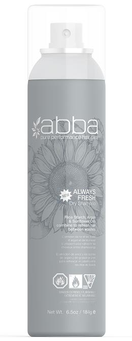 Abba Always Fresh Dry Shampoo 184g