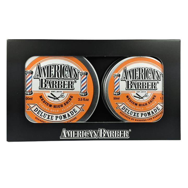 American Barber Deluxe Pomade Duo Pack 2 items
