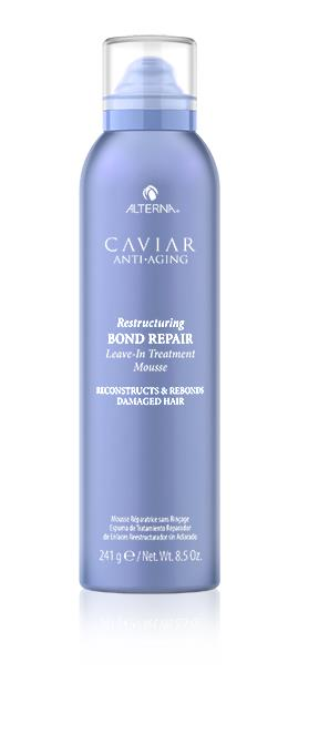 Alterna Caviar Anti-Aging Restructuring Bond Repair Leave-in Treatment Mousse 241g