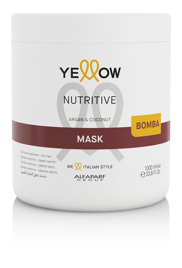 Yellow by Alfaparf Group – Nutritive Mask Supersize 1000ml 1000ml