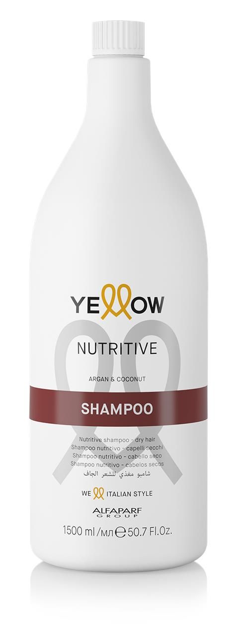 Yellow by Alfaparf Group – Nutritive Shampoo Supersize 1500ml 1500ml