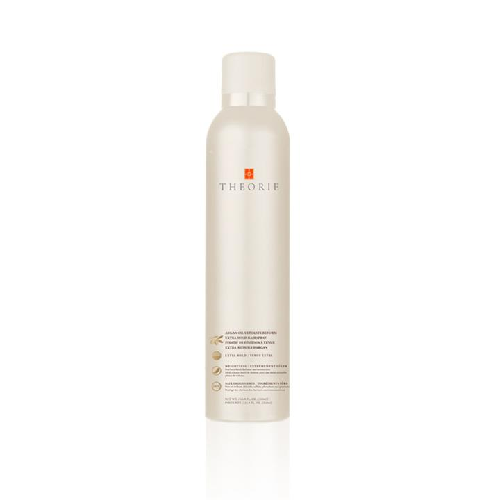 Theorie Argan Oil Ultimate Reform Hairspray Extreme Hold 230g