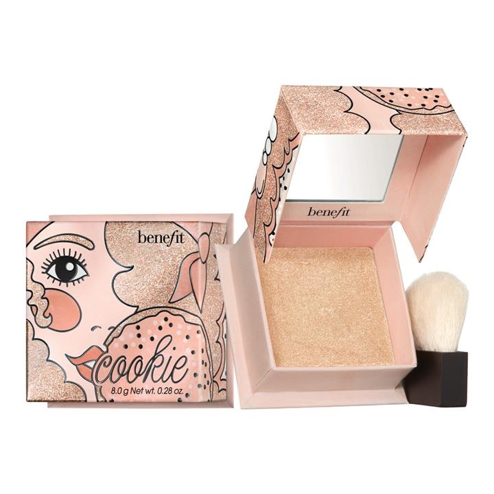Benefit Cosmetics Cookie Box O Highlighter Golden Pearl