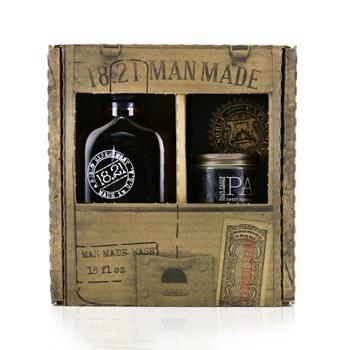 18.21 Man Made Man Made Wash & Paste Set – # Sweet Tobacco: 1x Shampoo, Conditioner & Body Wash 530ml + 1x Hair Paste 56.7g 2pcs Men's Skincare