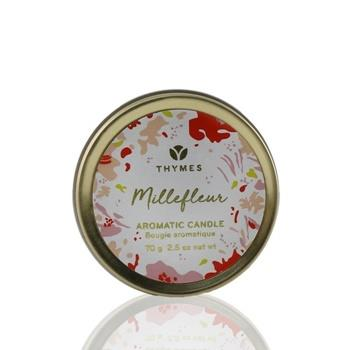 Thymes Aromatic Candle (Travel Tin) – Millefleur 70g/2.5oz Home Scent