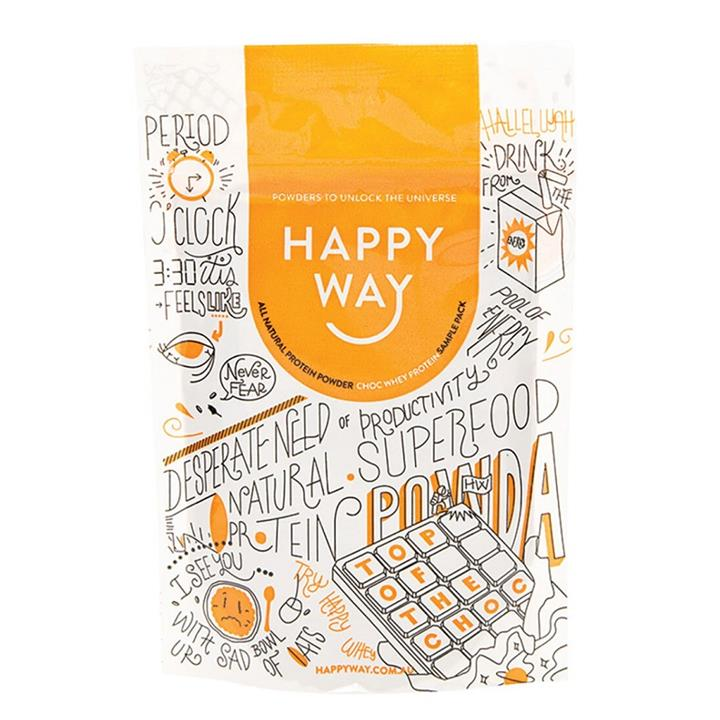 Happy Way Whey Protein Powder Chocolate 60g
