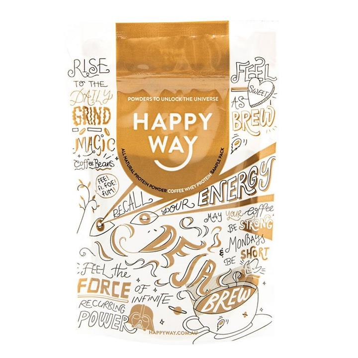 Happy Way Whey Protein Powder Coffee 60g