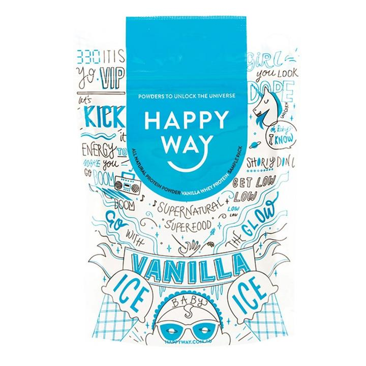 Happy Way Whey Protein Powder Vanilla 60g
