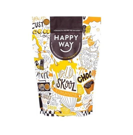 Happy Way Whey Protein Powder Choc Peanut Butter 500g