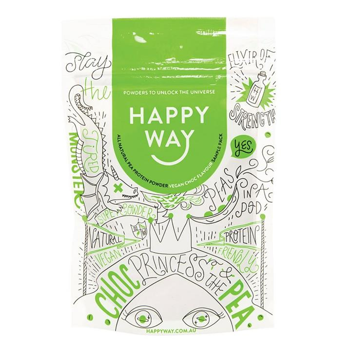 Happy Way Pea Protein Powder Vegan Chocolate 60g