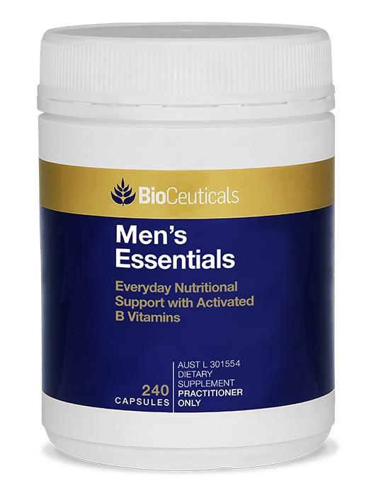 BioCeuticals Men's Essentials Cap X 240