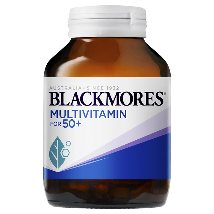 Blackmores Multivitamin for 50+ Cap X 90
