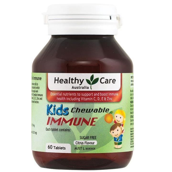 Healthy Care Kids Immune Chewable Tab X 60