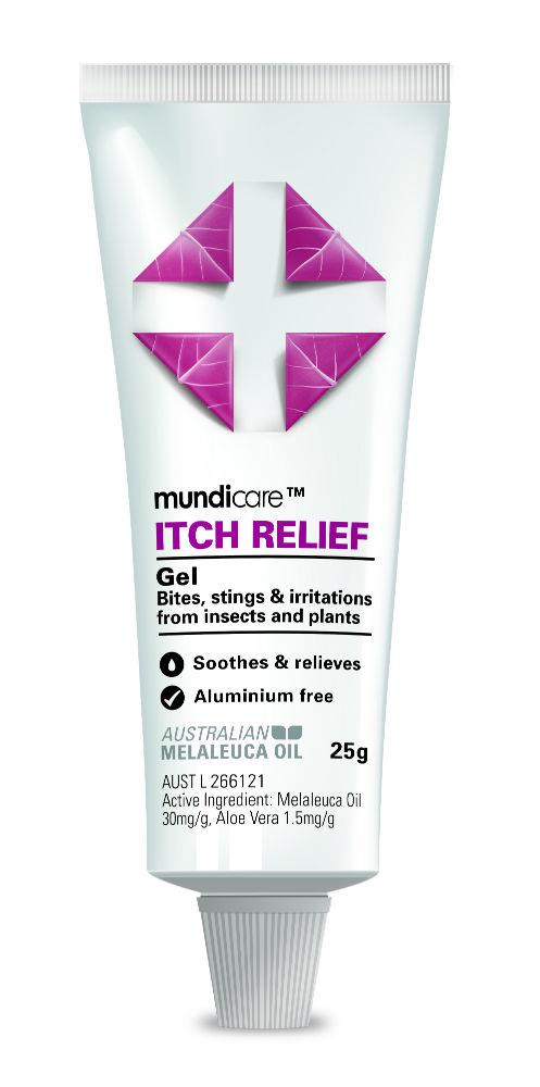Mundicare Itch Relief Gel Tube 25g