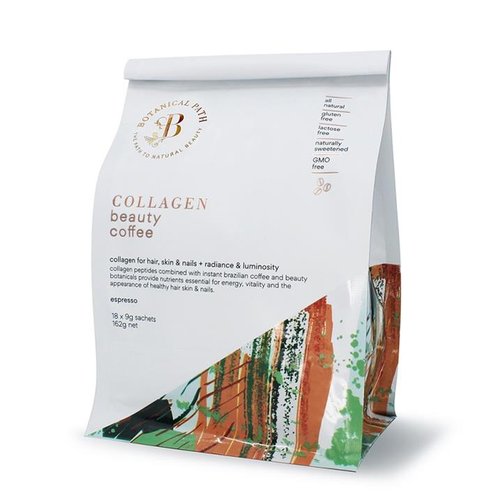 Botanical Path Collagen Beauty Coffee (Espresso) Sachets 9g X 18