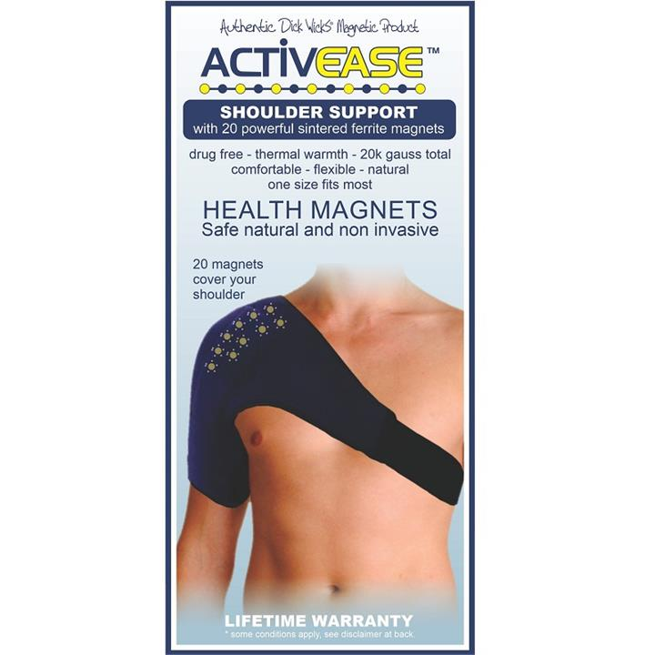 Dick Wicks Activease Thermal Magnetic Shoulder Support (One Size)
