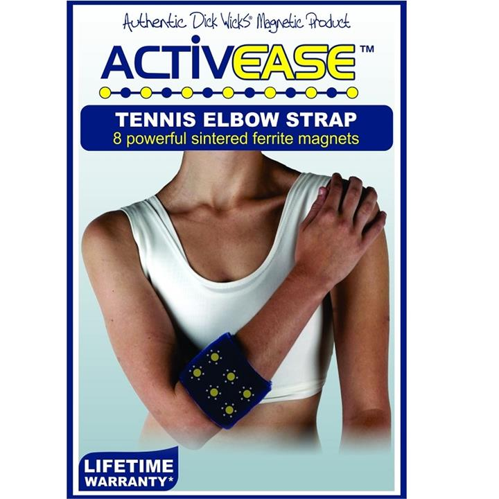 Dick Wicks Activease Thermal Magnetic Tennis Elbow Strap (One Size)